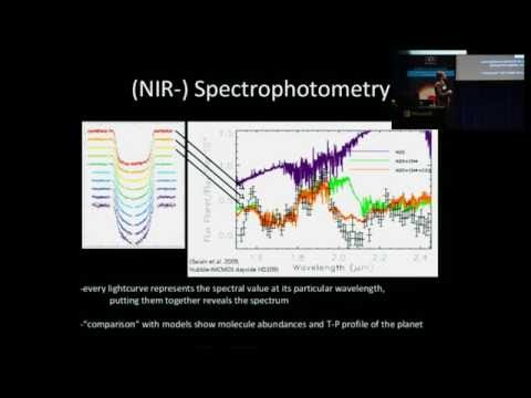 Sniffing Alien Atmospheres: Exoplanet spectrophotometry - Daniel Angerhausen(SETI Talks 2016)
