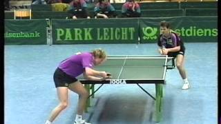 Table Tennis 1992 Saarbruecken vs Duesseldorf Persson Rosskopf Prean Cabrera Fetzner
