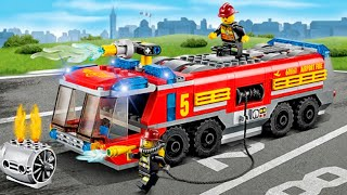 Download The Red Fire Truck with The Police Car 2 | Emergency Cars Cartoon for kids Mp3 and Videos