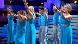 Хор Донецка (Злата Огневич)   - Dancing Queen(Abba cover) /Clash of the Choirs Ukraine /08.12.2013