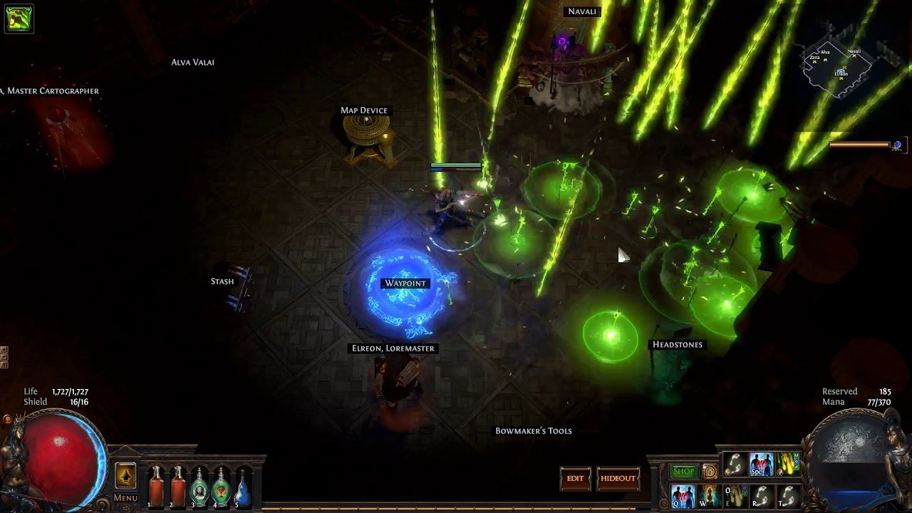 Repeat Path of Exile 3 3 Incursion SSFHC - Rip Blade Vortex