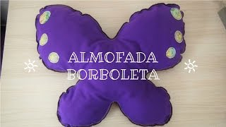 Almofada Borboleta com Teresa Lopes