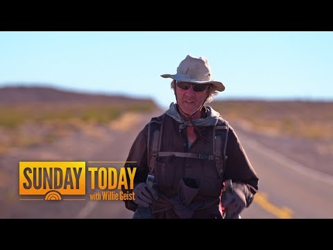 Meet The Man On A 15,000-Mile Journey, From Argentina To Alaska | Sunday TODAY