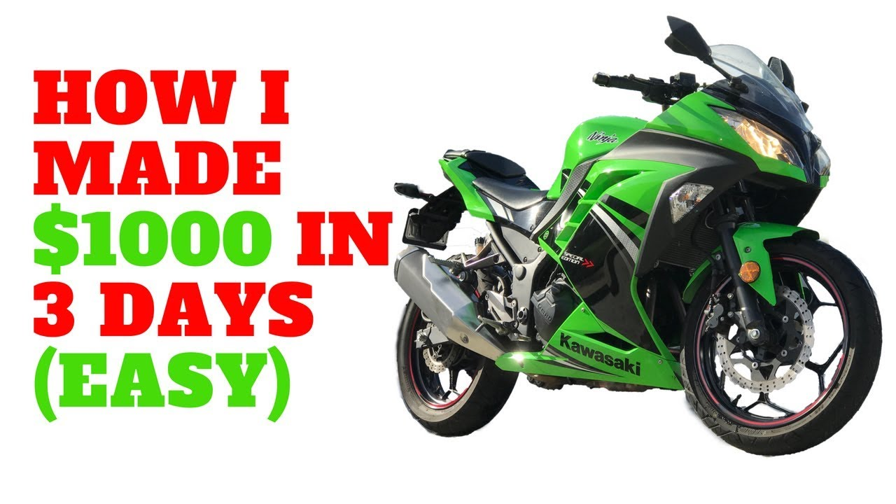 How to Flip Motorcycles for Profit