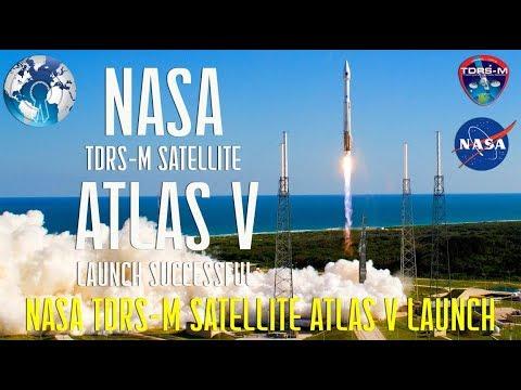 NASA Launch of Next Communications Satellite M (TDRS-M) Atlas V