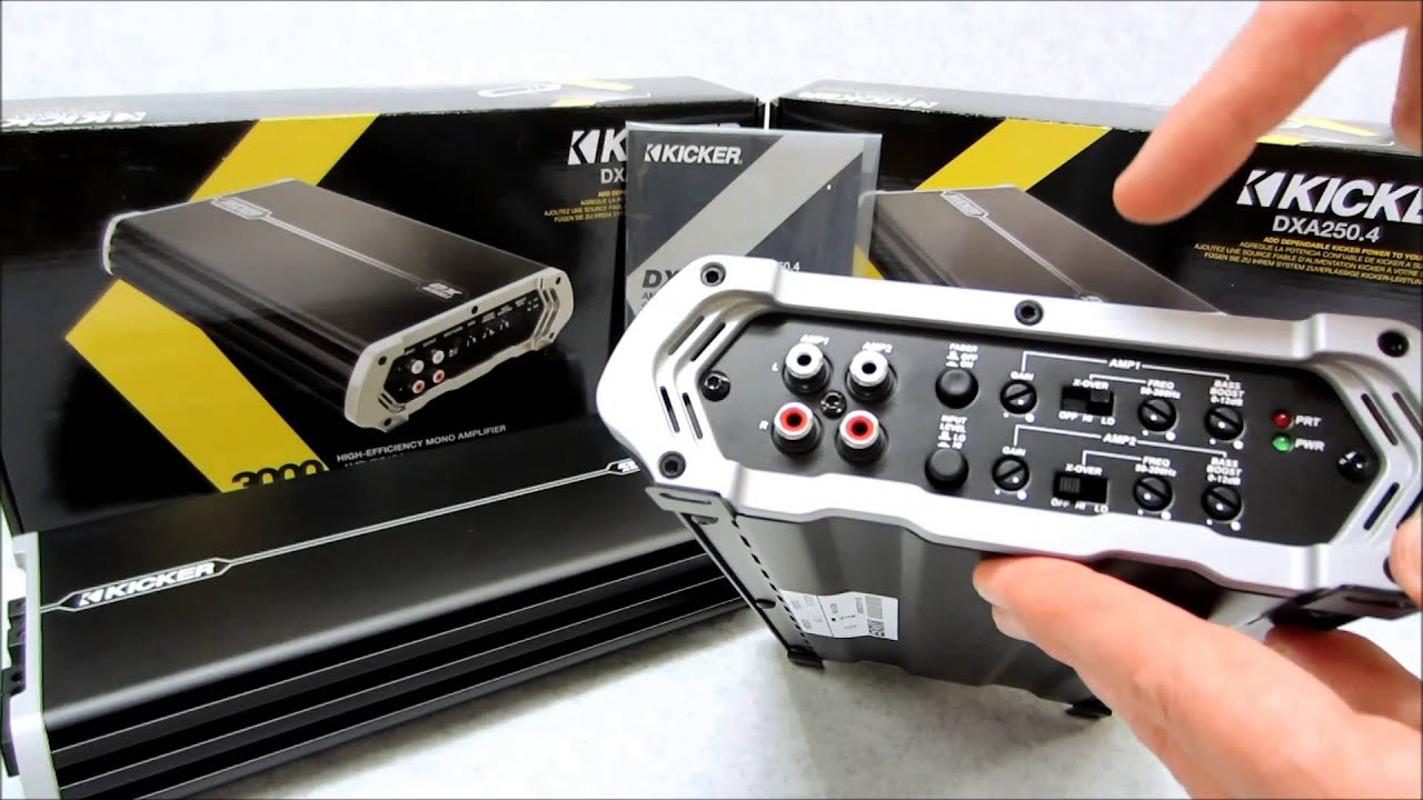 Kicker Dx Amplifier Review On Dxa1500 1 And Dxa250 4 Models Youtube Ohm Wiring Diagram