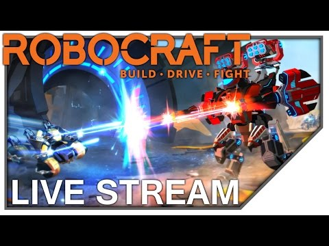 Robocraft: Fast and Formidable Monster Livestream (3hrs25m)