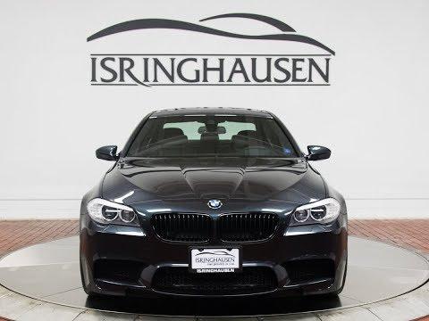 2013 BMW M5 in Singapore Grey Metallic - 096139B