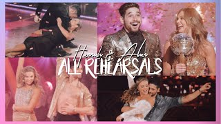 Hannah and Alan ALL Rehearsal Packages | DWTS