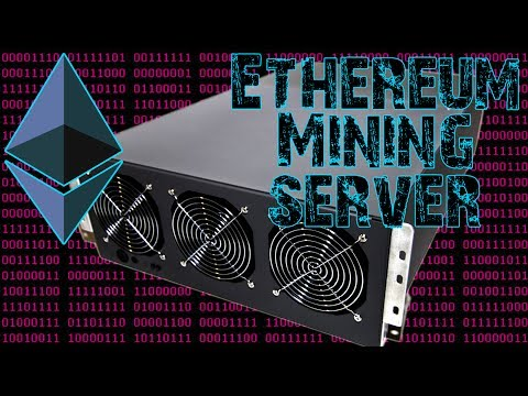 7 GPU SERVER   Ethereum Mining Server WIP