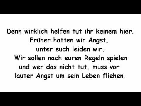 Fard - Ziel & Schieß - Lyrics | Alter Ego