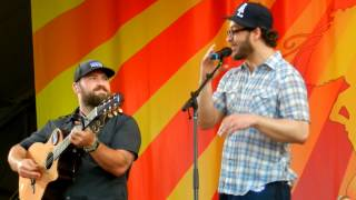 Day That I Die- Zac Brown Band Feat. Amos Lee Live at the New Orleans Jazz Fest 2012