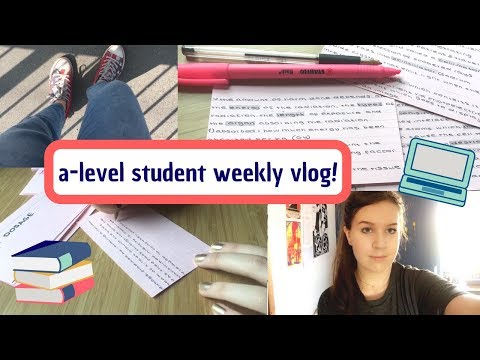 week in the life of an a-level student! 📚 sixth form vlog! 🌻