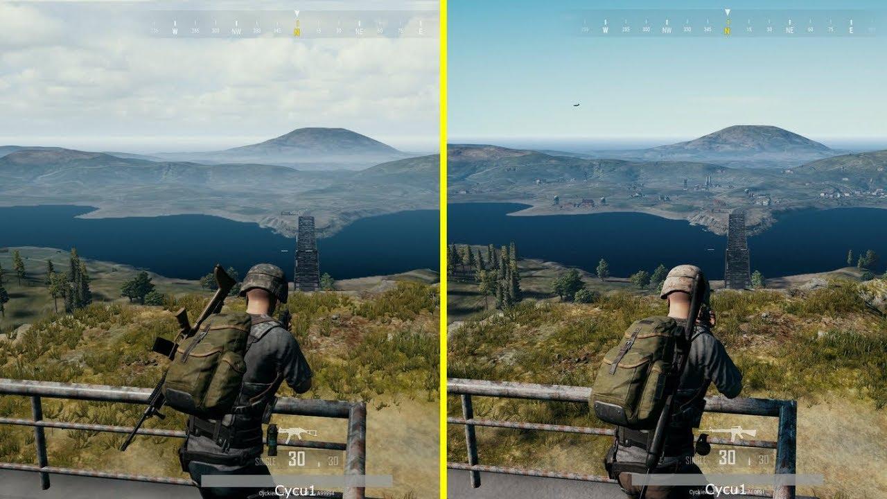 PlayerUnknown's Battlegrounds / PUBG Xbox One S Vs Xbox