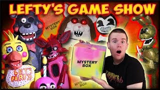 FNAF Game Show: Mystery Box Games! (with Lefty, Foxy and Toy Chica!)