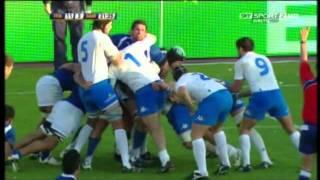 Rugby Italia vs Samoa (24-6) Test Match 2009 1° Tempo