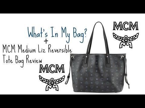 Whats In My Bag?! + MCM Medium Liz Tote Bag Review & Instagram Giveaway Anouncment!