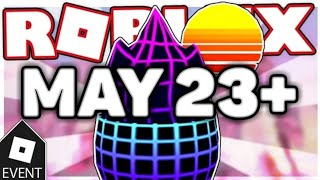 [GLITCHED EVENT] HOW TO GET RETRO EGG ON ROBLOX EGG HUNT 2019 ON MAY 23!