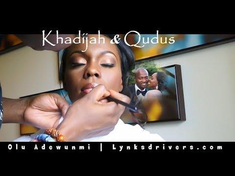 Nigerian Wedding & Nikah Ceremony: Khadijah +  Qudus