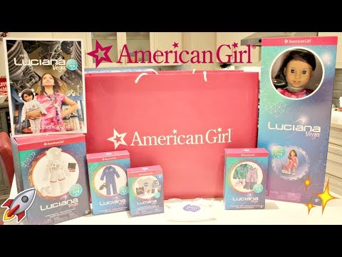 American Girl Luciana Vega GOTY 2018 Collection HAUL & Unboxing