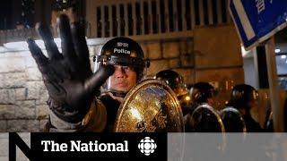 China sends a warning to Hong Kong protestors