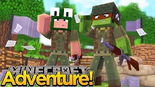 Minecraft Adventure - TINYTURTLE AND LITTLELIZARD JOIN THE ARMY