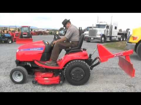 Simplicity Tractor 4X4 Mower