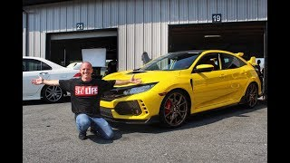 The Worlds Only Yellow Painted Honda Civic Type R (FK8)