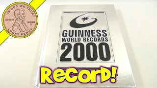 Guinness World Records Book 2000 Millennium Edition