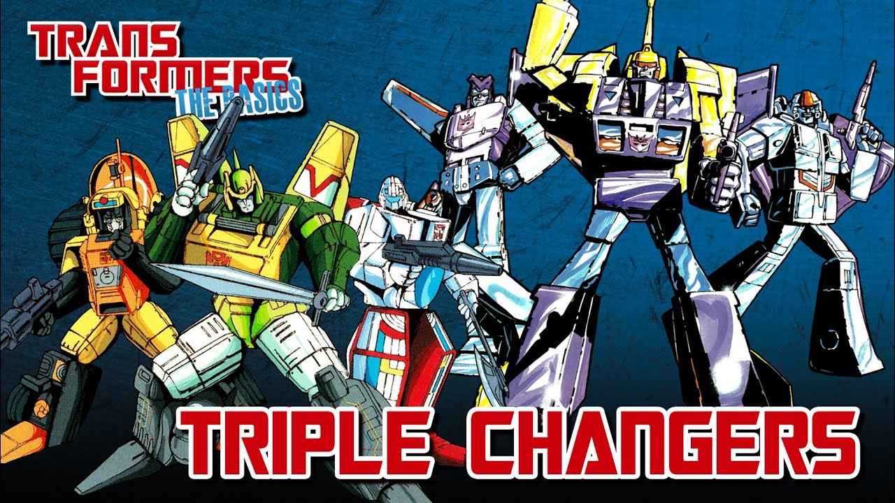 Download TRANSFORMERS: THE BASICS on TRIPLE CHANGERS
