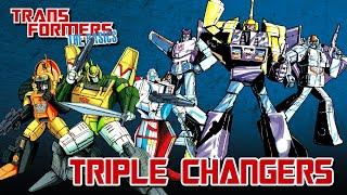 TRANSFORMERS: THE BASICS oฑ TRIPLE CHANGERS