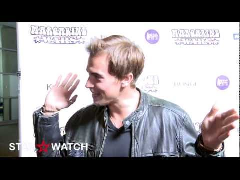 Rich Manley red carpet interview at