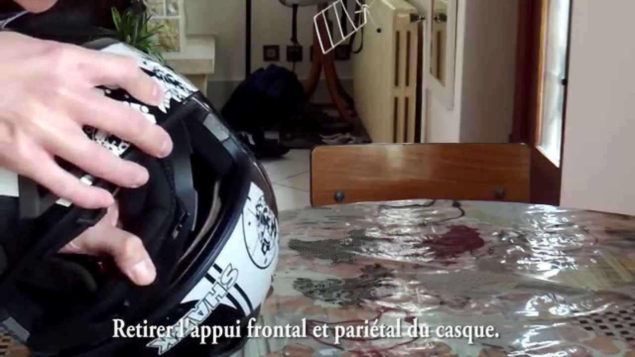 Nettoyer un casque moto