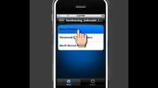 How to print documents from your iPhone to a printer using PrintJinni (Apple iOS Version)