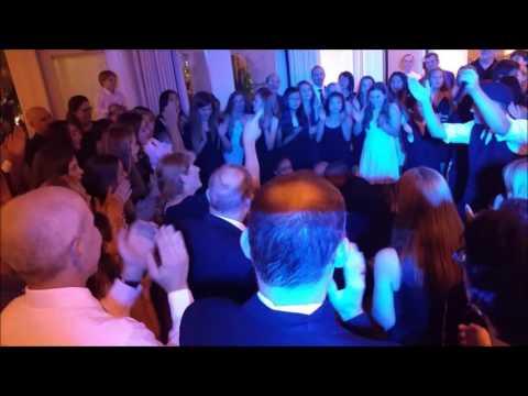 Bat Mitzvah dance the hora