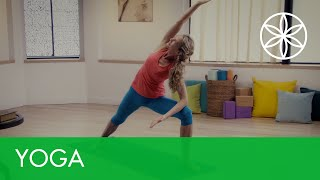 Flow Yoga for Beginners with Rodney Yee and Colleen Saidman | Yoga | Gaiam