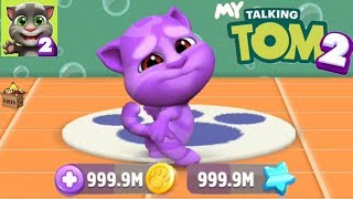 MY TALKING TOM2 Unlimited Coins & Stars⎮Gameplay make for Kid #2