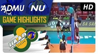 UAAP 80 WV: ADMU vs. NU | Game Highlights | March 17, 2018