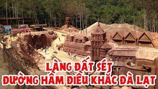 Đường hầm điêu khắc tại Đà Lạt