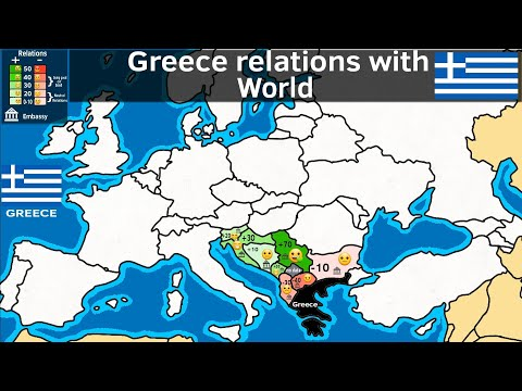 Relations between Greece and other countries of the world