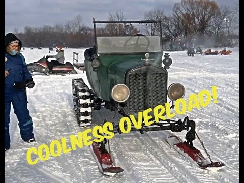 Waconia Vintage Snowmobile Ride In & Show 2019 Minnesota's Always Fun!