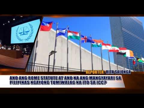 Alam Ba News: Ano ang Rome Statute at ano epekto sa pagkalas ng Pilipinas sa ICC?