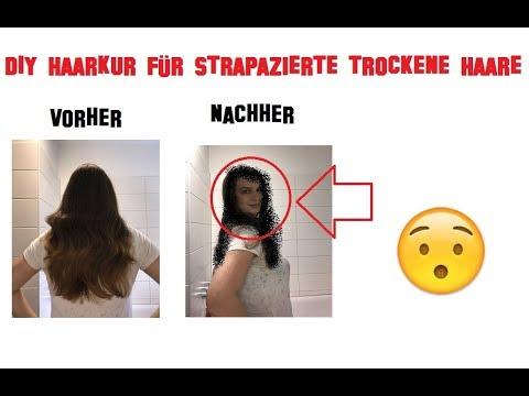diy haarkur gegen trockenes und strapaziertes haar youtube