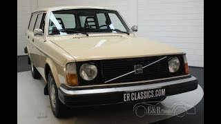 Volvo 245 DL Station 1976 Fully original -VIDEO- www.ERclassics.com