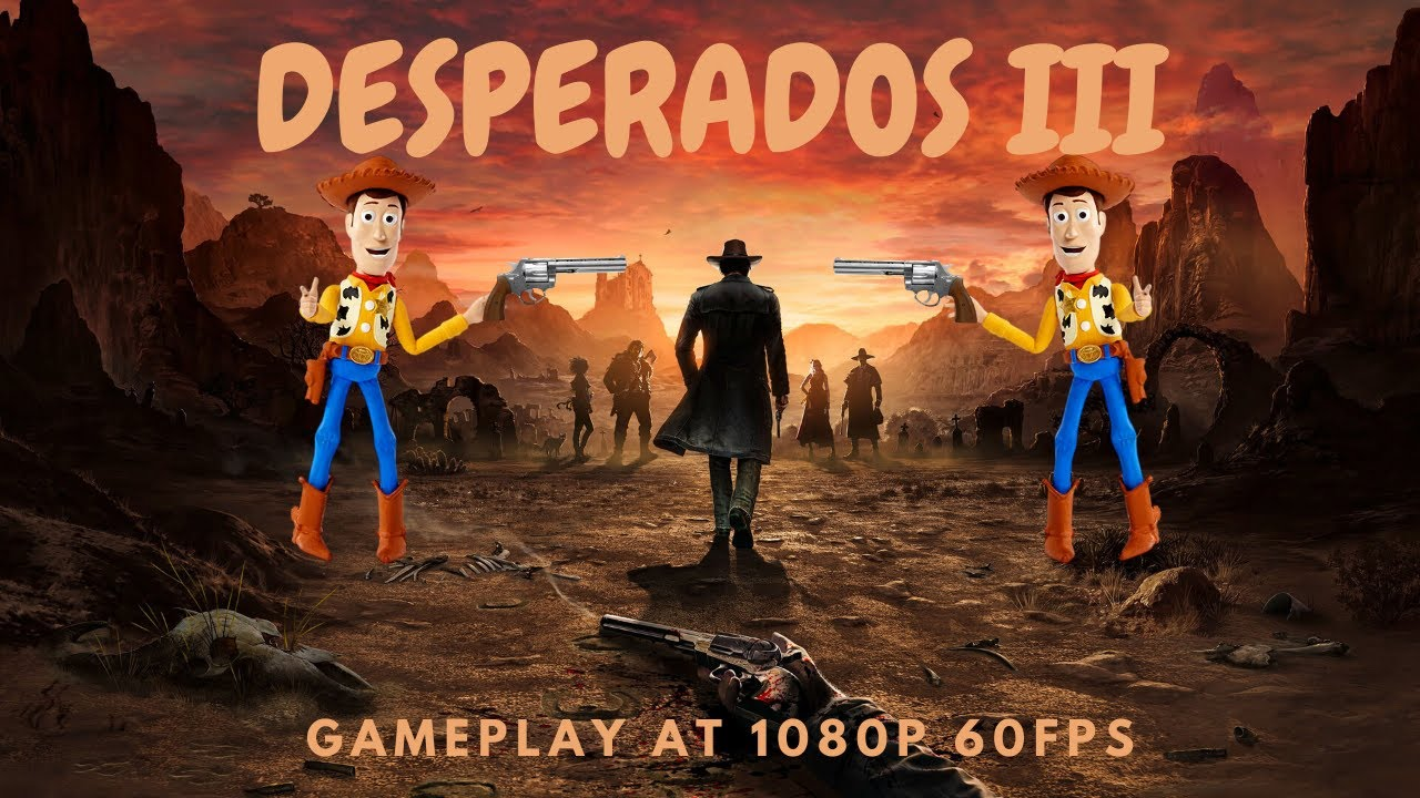 Desperados 3 Gameplay Pc Chapter 1 Acts 5 6 Edited For More Action Youtube