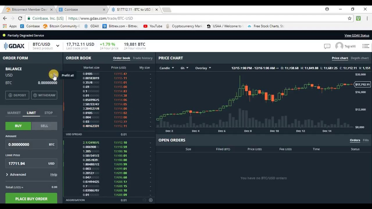 How to buy bitcoin in coinbase or gdax and transfer to bitconnect how to buy bitcoin in coinbase or gdax and transfer to bitconnect ccuart Images