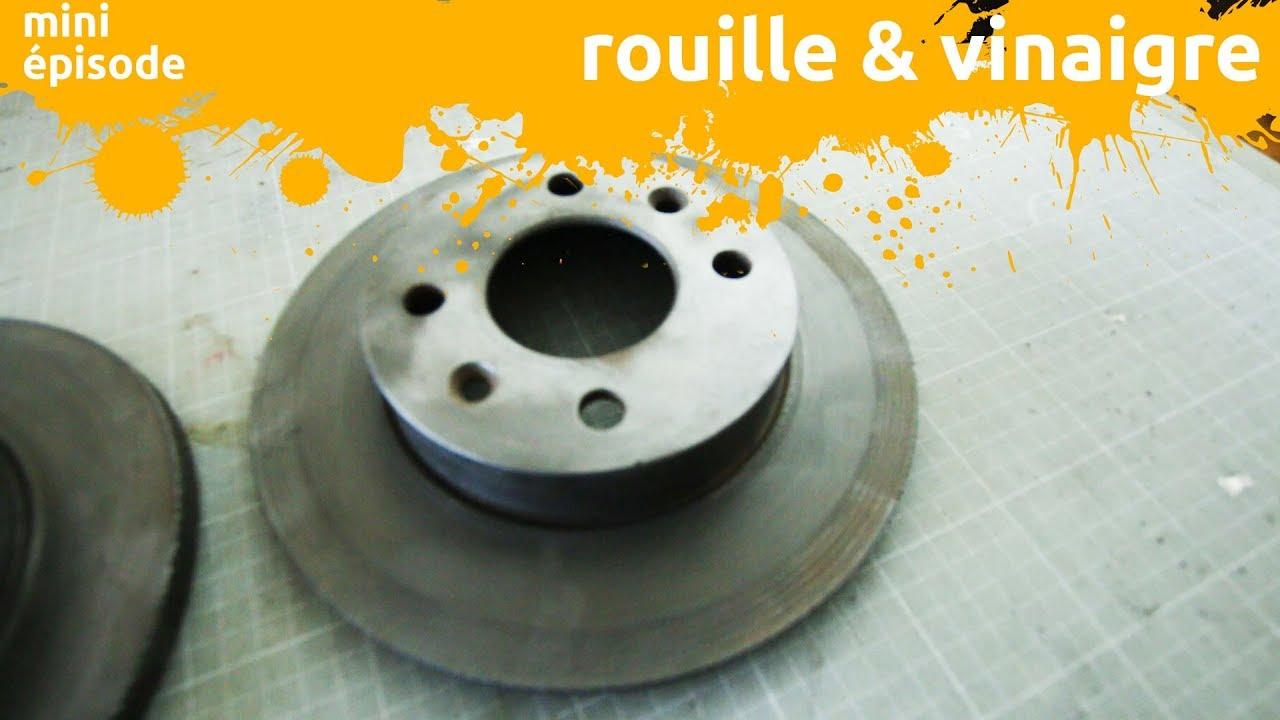 Enlever Rouille Sur Plancha En Fonte dé-rouiller le métal avec du vinaigre - miniepisode