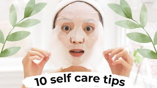 10 Simple Self Care Tips (When Working From Home!)