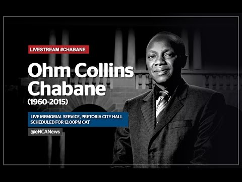 Memorial for Ohm Collins Chabane