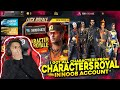 I Buyed All  Character From Character Royale In Noob Account Omg At Free Fire   Mp3 - Mp4 Download